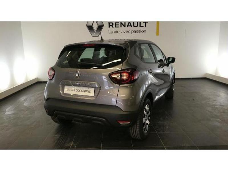 Renault Captur 1.5 dCi 90ch energy Business EDC Euro6c Gris occasion à Figeac - photo n°2