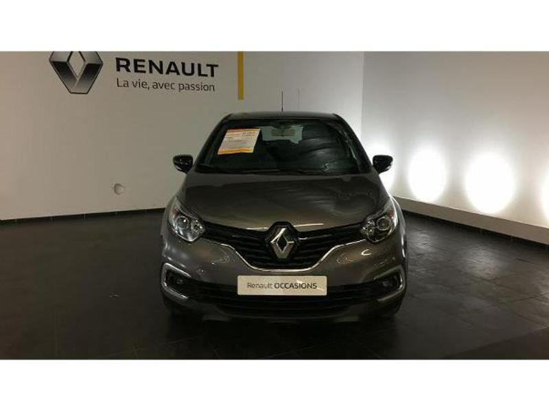 Renault Captur 1.5 dCi 90ch energy Business EDC Euro6c Gris occasion à Figeac - photo n°5