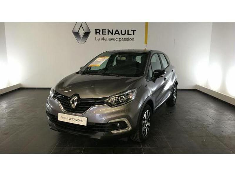 Renault Captur 1.5 dCi 90ch energy Business EDC Euro6c Gris occasion à Figeac