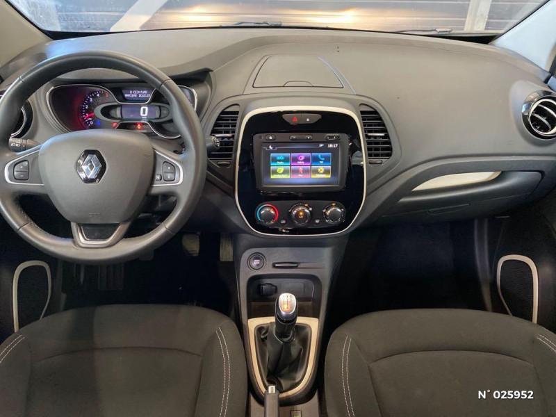 Renault Captur 1.5 dCi 90ch energy Business EDC Euro6c Gris occasion à Berck - photo n°10