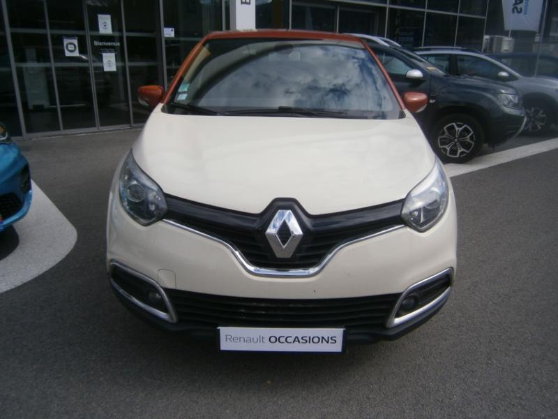 Renault Captur 1.5 dCi 90ch Stop&Start energy Intens eco² Orange occasion à Millau - photo n°2