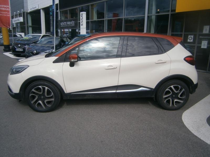 Renault Captur 1.5 dCi 90ch Stop&Start energy Intens eco² Orange occasion à Millau - photo n°3