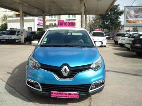 Renault Captur 1.5 DCI 90CH STOP&START ENERGY INTENS ECO² Bleu occasion à Toulouse - photo n°3