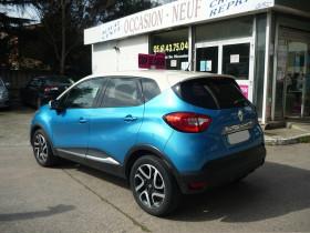 Renault Captur 1.5 DCI 90CH STOP&START ENERGY INTENS ECO² Bleu occasion à Toulouse - photo n°5