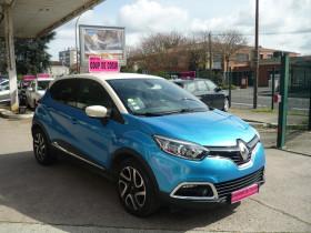 Renault Captur 1.5 DCI 90CH STOP&START ENERGY INTENS ECO² Bleu occasion à Toulouse - photo n°2