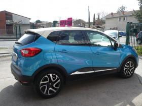 Renault Captur 1.5 DCI 90CH STOP&START ENERGY INTENS ECO² Bleu occasion à Toulouse - photo n°4