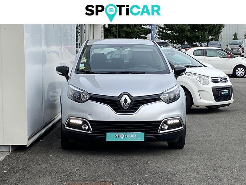 Renault Captur 1.5 dCi 90ch Stop&Start energy Intens EDC Euro6 2016 Gris occasion à Lescar - photo n°2