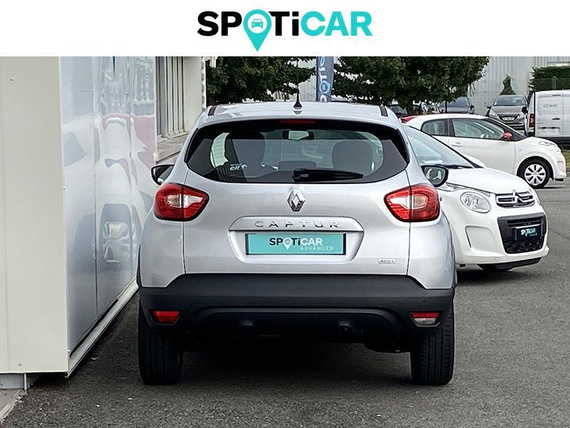 Renault Captur 1.5 dCi 90ch Stop&Start energy Intens EDC Euro6 2016 Gris occasion à Lescar - photo n°4