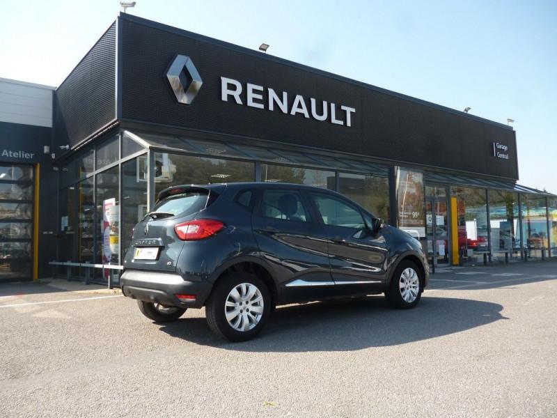 Renault Captur 1.5 DCI 90CH STOP&START ENERGY ZEN ECO² EURO6 Bleu occasion à La Chapelle-Basse-Mer - photo n°2