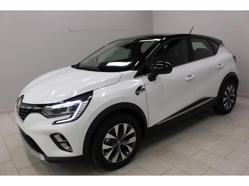 Renault Captur 1.6 E-TECH Hybride - 160 - BVA multi-modes  II Intens Blanc occasion à Labège
