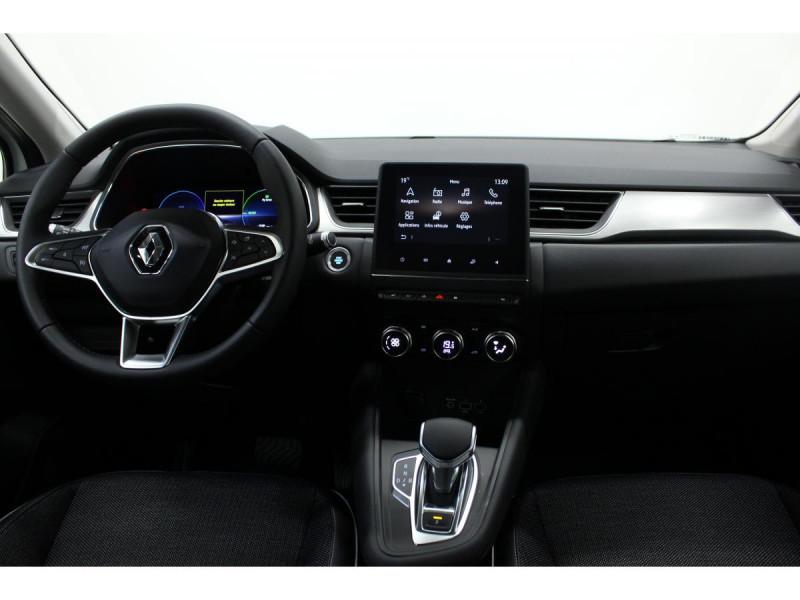 Renault Captur 1.6 E-TECH Hybride - 160 - BVA multi-modes  II Intens Blanc occasion à Labège - photo n°4