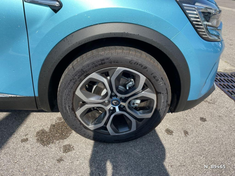 Renault Captur 1.6 E-Tech hybride rechargeable 160ch Intens - 21 Bleu occasion à Persan - photo n°9