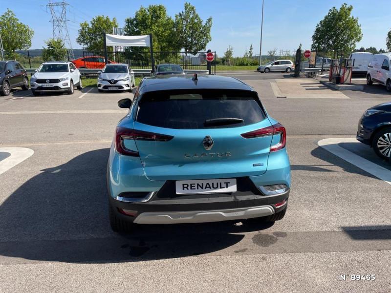Renault Captur 1.6 E-Tech hybride rechargeable 160ch Intens - 21 Bleu occasion à Persan - photo n°3