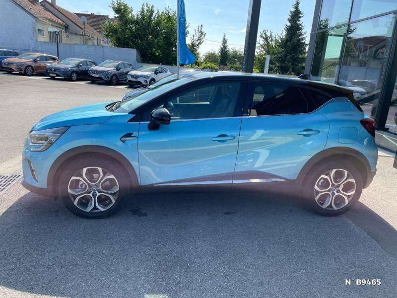 Renault Captur 1.6 E-Tech hybride rechargeable 160ch Intens - 21 Bleu occasion à Persan - photo n°8