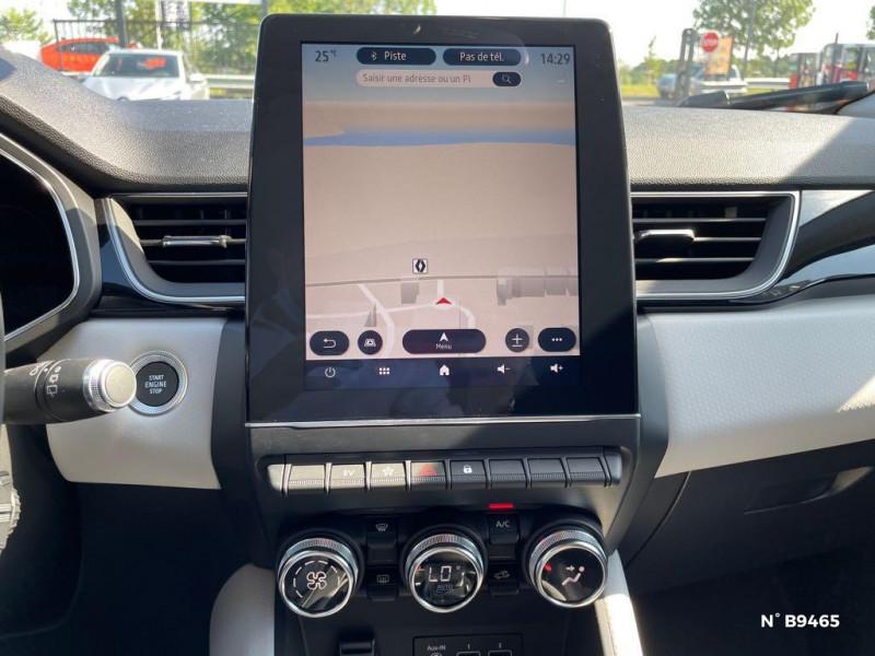 Renault Captur 1.6 E-Tech hybride rechargeable 160ch Intens - 21 Bleu occasion à Persan - photo n°11