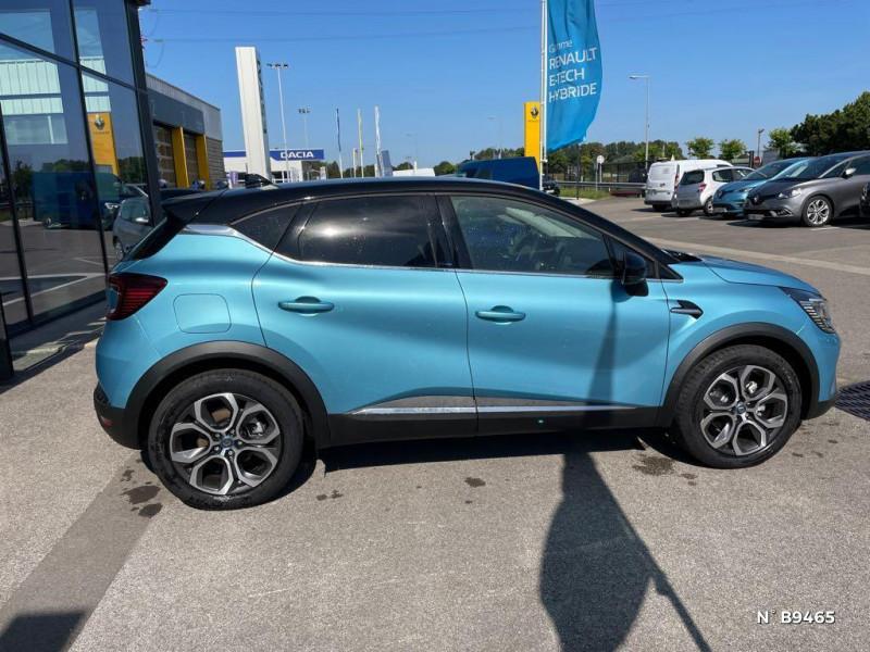 Renault Captur 1.6 E-Tech hybride rechargeable 160ch Intens - 21 Bleu occasion à Persan - photo n°7