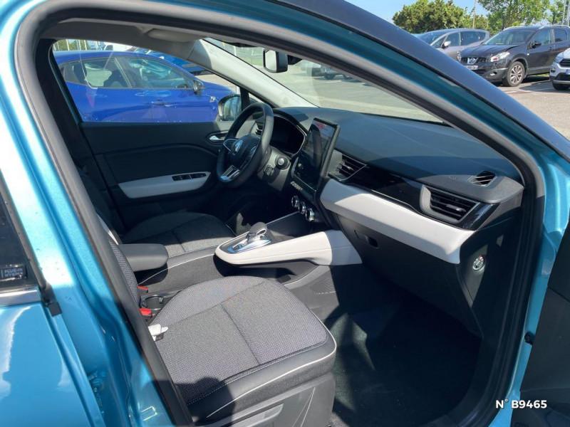 Renault Captur 1.6 E-Tech hybride rechargeable 160ch Intens - 21 Bleu occasion à Persan - photo n°4