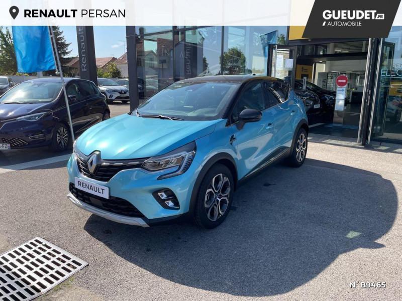 Renault Captur 1.6 E-Tech hybride rechargeable 160ch Intens - 21 Bleu occasion à Persan