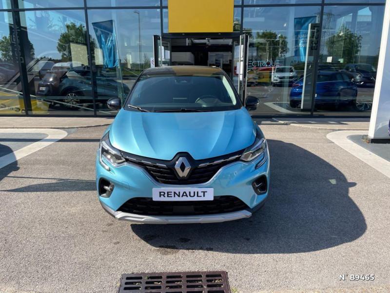 Renault Captur 1.6 E-Tech hybride rechargeable 160ch Intens - 21 Bleu occasion à Persan - photo n°2