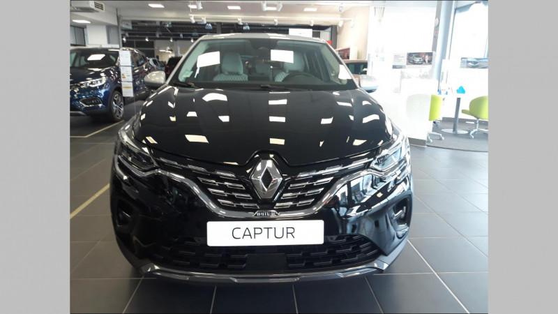 Renault Captur 1.6 E-Tech Plug-in 160ch Initiale Paris Noir occasion à QUIMPER - photo n°2