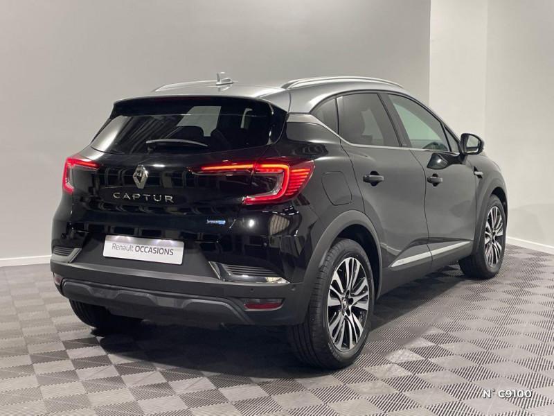 Renault Captur 1.6 E-Tech Plug-in 160ch Initiale Paris Noir occasion à Évreux - photo n°6