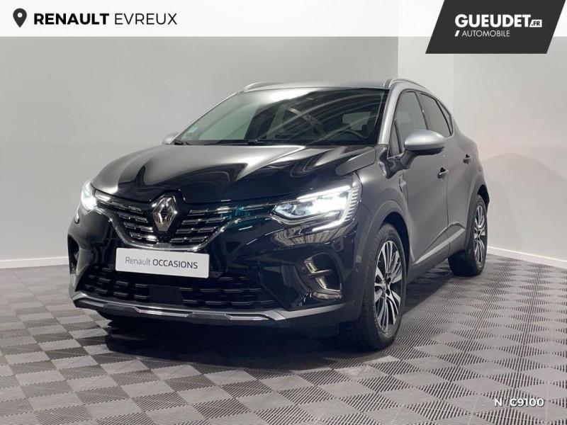 Renault Captur 1.6 E-Tech Plug-in 160ch Initiale Paris Noir occasion à Évreux