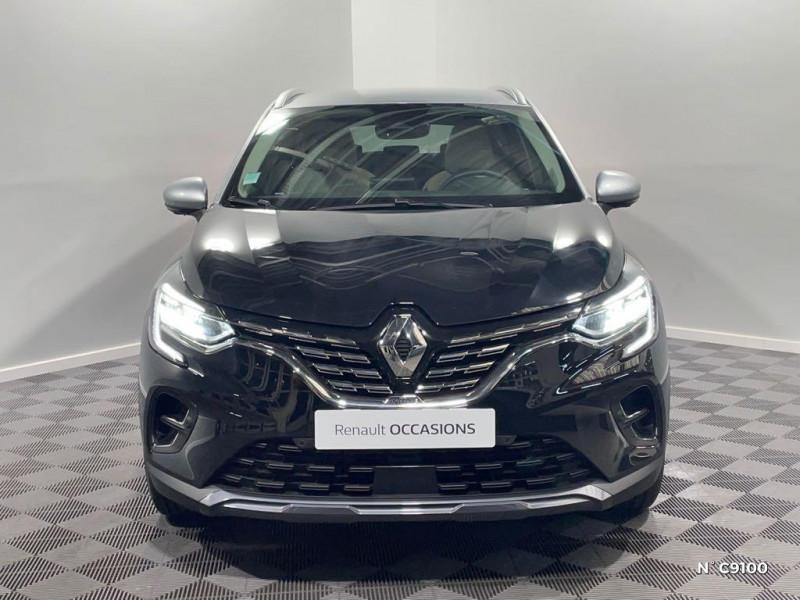 Renault Captur 1.6 E-Tech Plug-in 160ch Initiale Paris Noir occasion à Évreux - photo n°2
