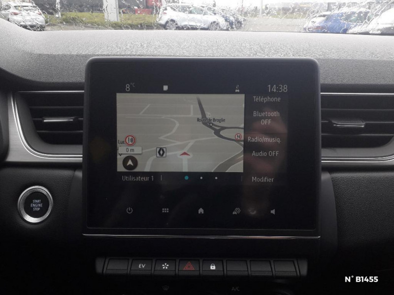 Renault Captur 1.6 E-Tech Plug-in 160ch Intens Bleu occasion à Glos - photo n°11