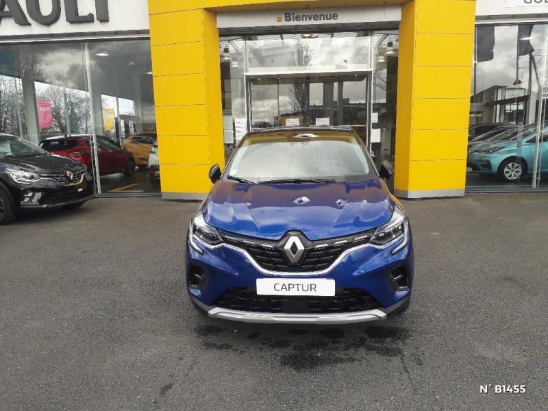Renault Captur 1.6 E-Tech Plug-in 160ch Intens Bleu occasion à Glos - photo n°2