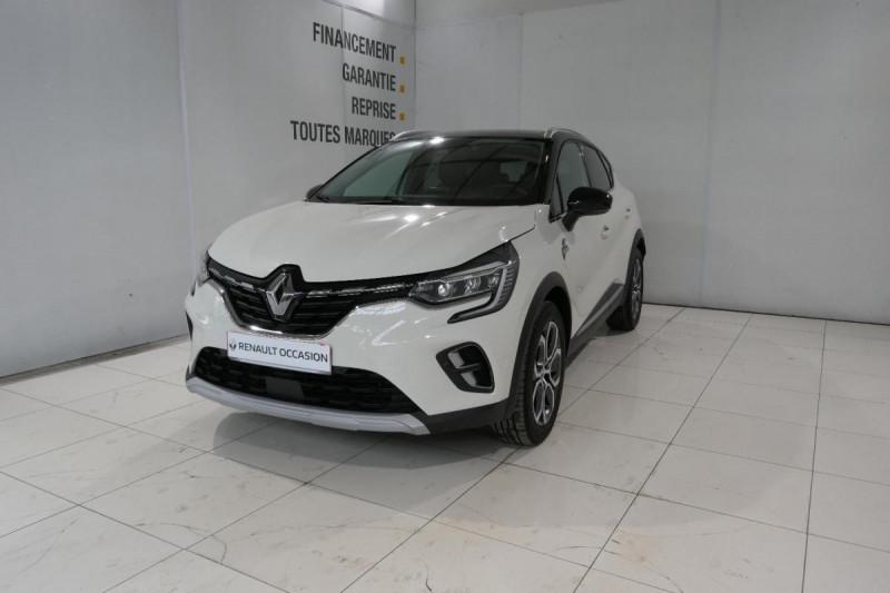 Renault Captur Blue dCi 115 Intens Blanc occasion à LANNION