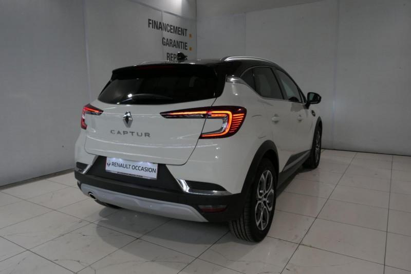 Renault Captur Blue dCi 115 Intens Blanc occasion à LANNION - photo n°3
