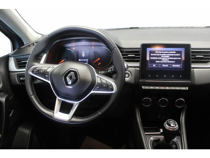 Renault Captur Blue dCi 95 Business Gris occasion à TARBES - photo n°8