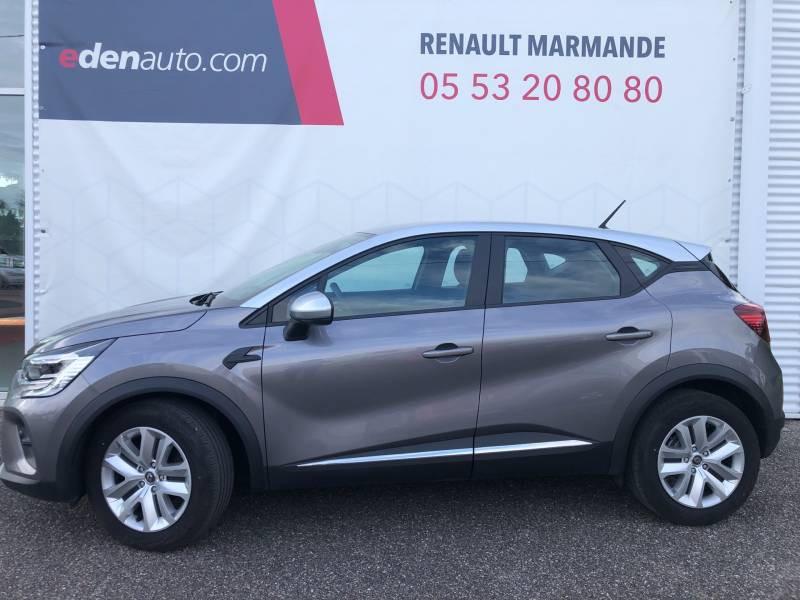 Renault Captur Blue dCi 95 Business Gris occasion à Sainte-Bazeille