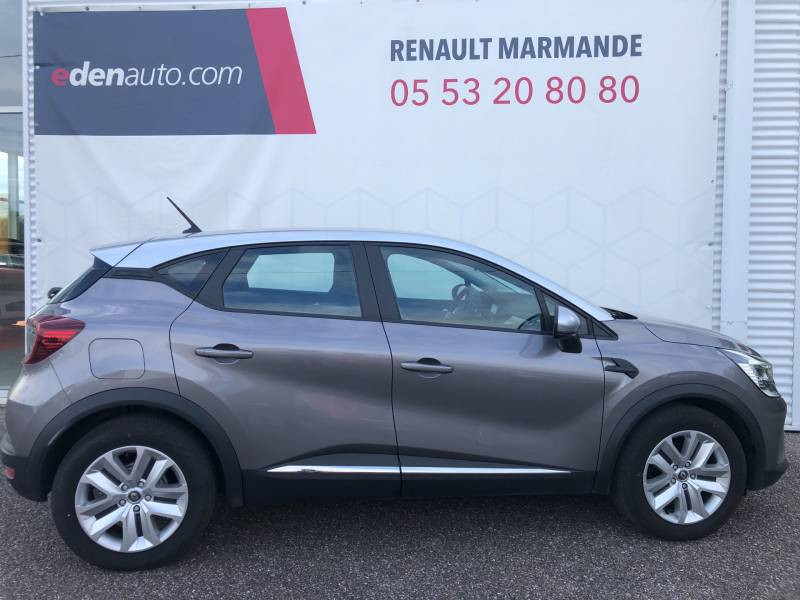 Renault Captur Blue dCi 95 Business Gris occasion à Sainte-Bazeille - photo n°2