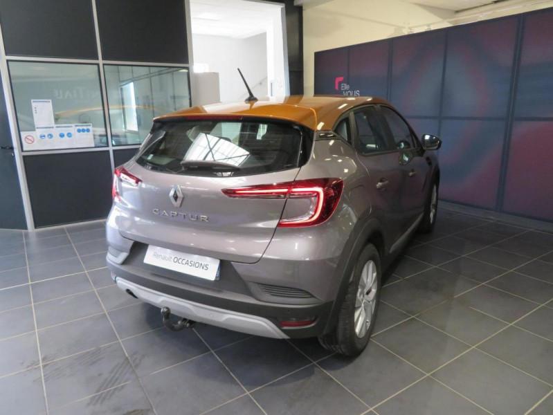 Renault Captur Blue dCi 95 Business Gris occasion à QUIMPER - photo n°5