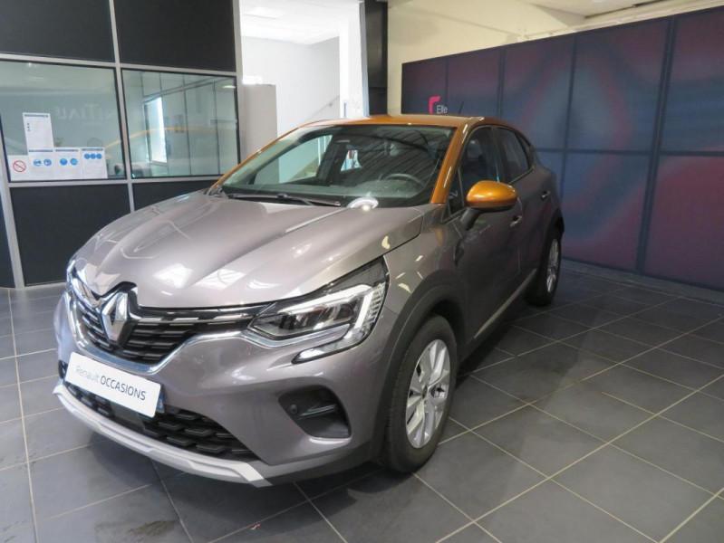 Renault Captur Blue dCi 95 Business Gris occasion à QUIMPER