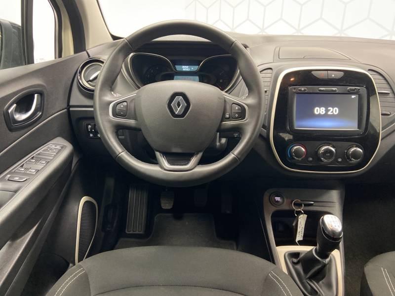 Renault Captur BUSINESS dCi 90 E6C Ivoire occasion à Mont de Marsan - photo n°13