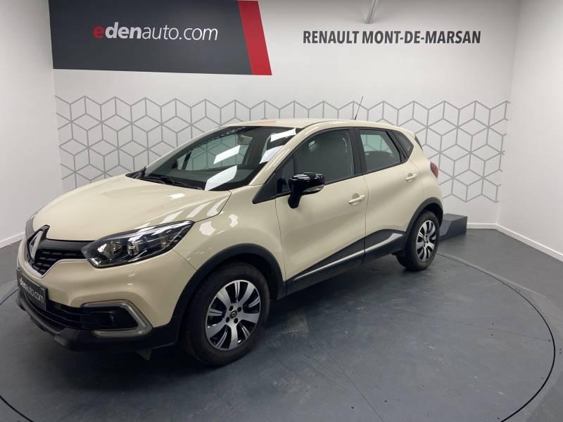 Renault Captur BUSINESS dCi 90 E6C Ivoire occasion à Mont de Marsan