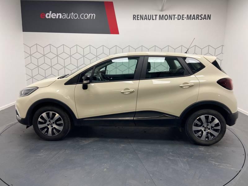 Renault Captur BUSINESS dCi 90 E6C Ivoire occasion à Mont de Marsan - photo n°3