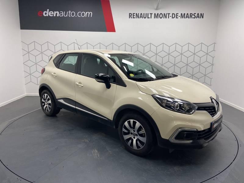 Renault Captur BUSINESS dCi 90 E6C Ivoire occasion à Mont de Marsan - photo n°5