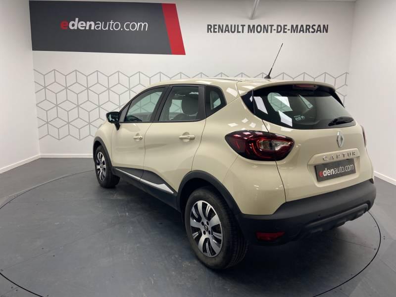 Renault Captur BUSINESS dCi 90 E6C Ivoire occasion à Mont de Marsan - photo n°2