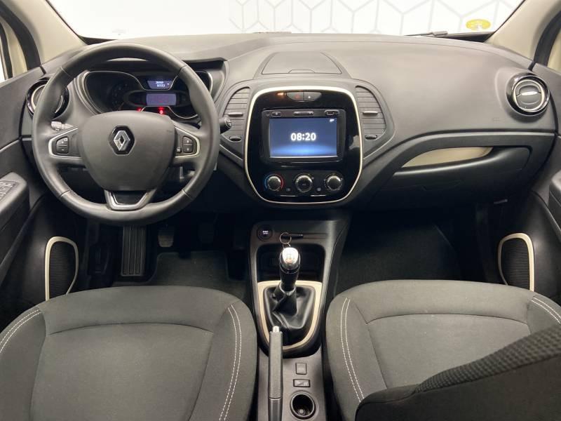 Renault Captur BUSINESS dCi 90 E6C Ivoire occasion à Mont de Marsan - photo n°14