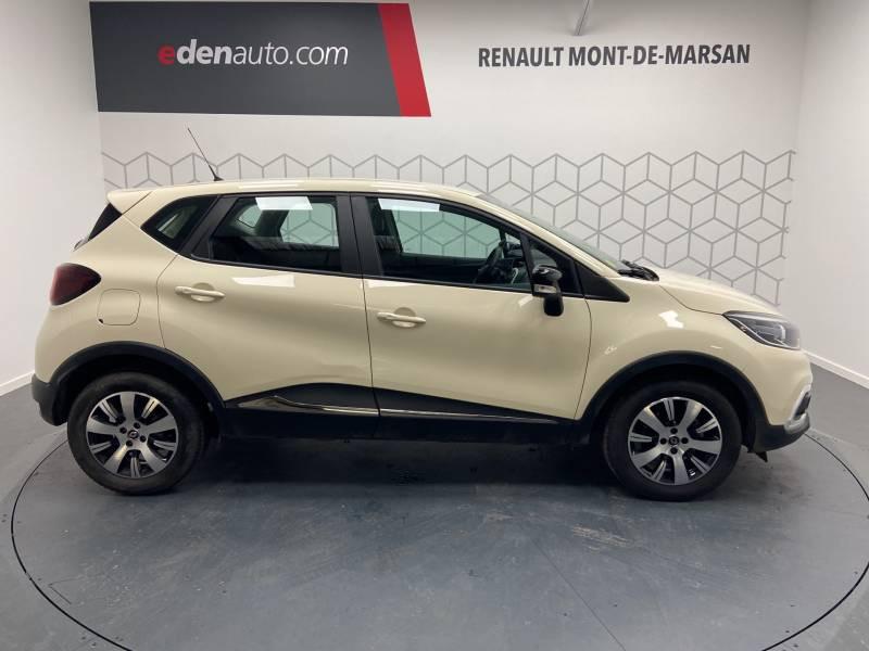 Renault Captur BUSINESS dCi 90 E6C Ivoire occasion à Mont de Marsan - photo n°6