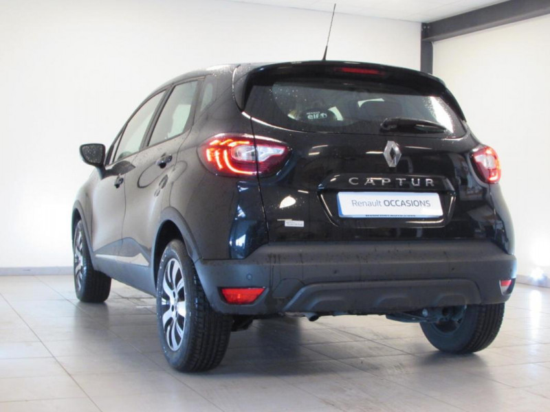 Renault Captur BUSINESS dCi 90 E6C Noir occasion à VALFRAMBERT - photo n°3