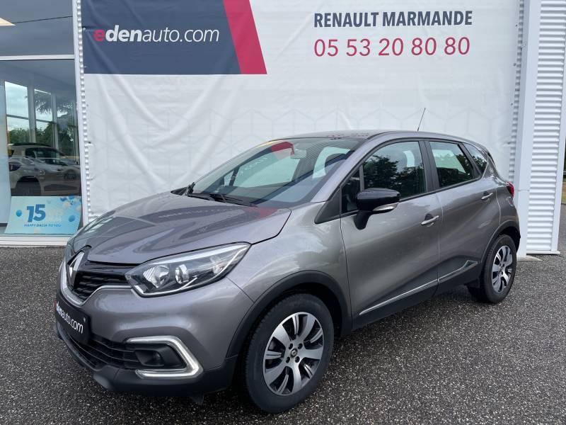 Renault Captur BUSINESS dCi 90 Energy EDC Gris occasion à Sainte-Bazeille