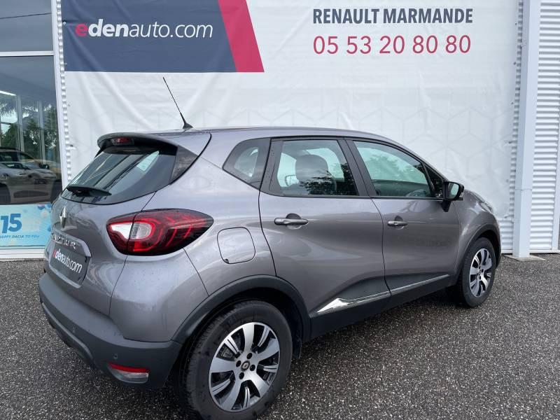 Renault Captur BUSINESS dCi 90 Energy EDC Gris occasion à Sainte-Bazeille - photo n°2