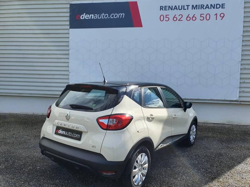 Renault Captur BUSINESS dCi 90 Energy Blanc occasion à Moncassin - photo n°4