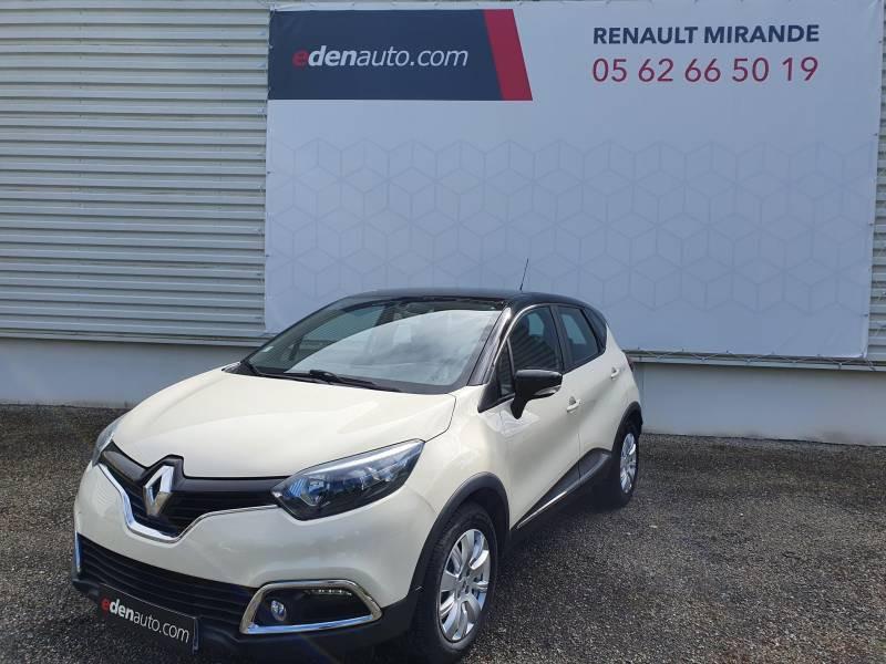 Renault Captur BUSINESS dCi 90 Energy Blanc occasion à Moncassin