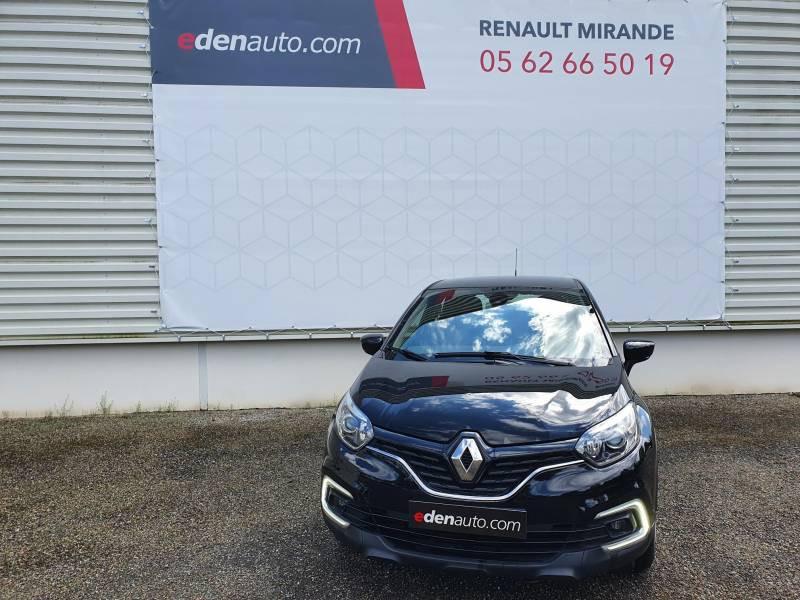 Renault Captur BUSINESS dCi 90 Energy Noir occasion à Moncassin - photo n°3