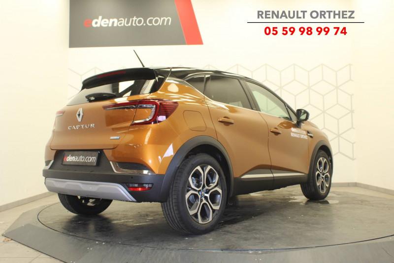 Renault Captur Captur E-Tech 145 - 21 Intens 5p Orange occasion à Orthez - photo n°3
